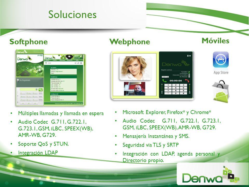 Soluciones Móviles Softphone Webphone
