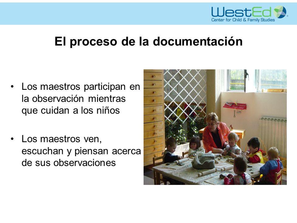 El proceso de la documentación