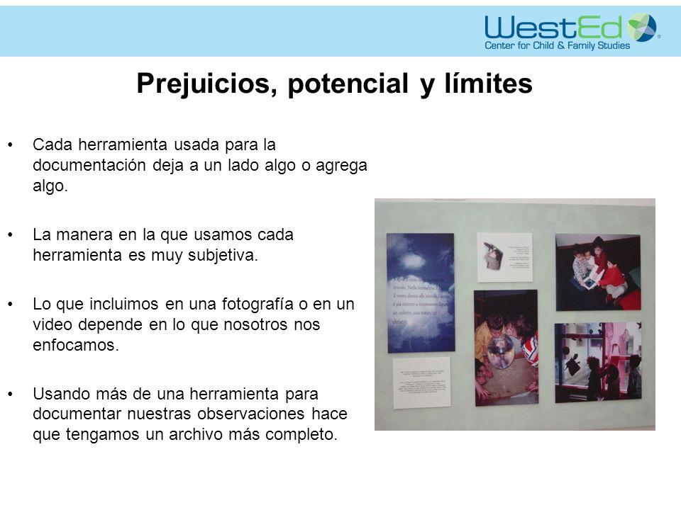 Prejuicios, potencial y límites