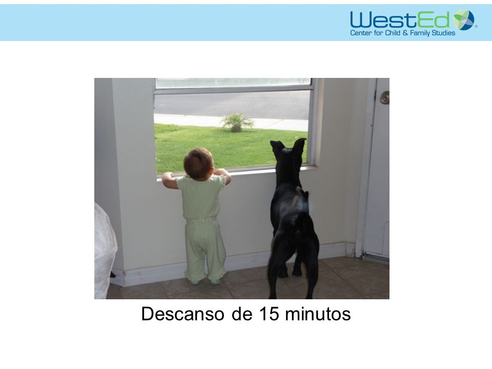Descanso de 15 minutos