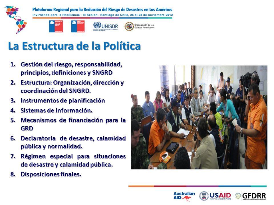 La Estructura de la Política