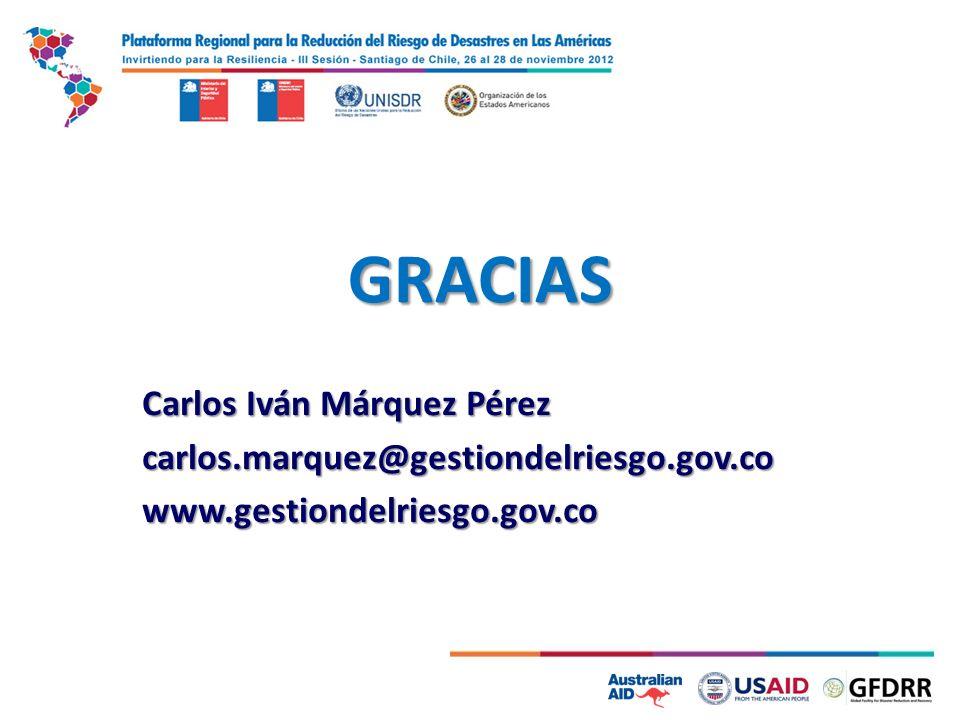 GRACIAS Carlos Iván Márquez Pérez