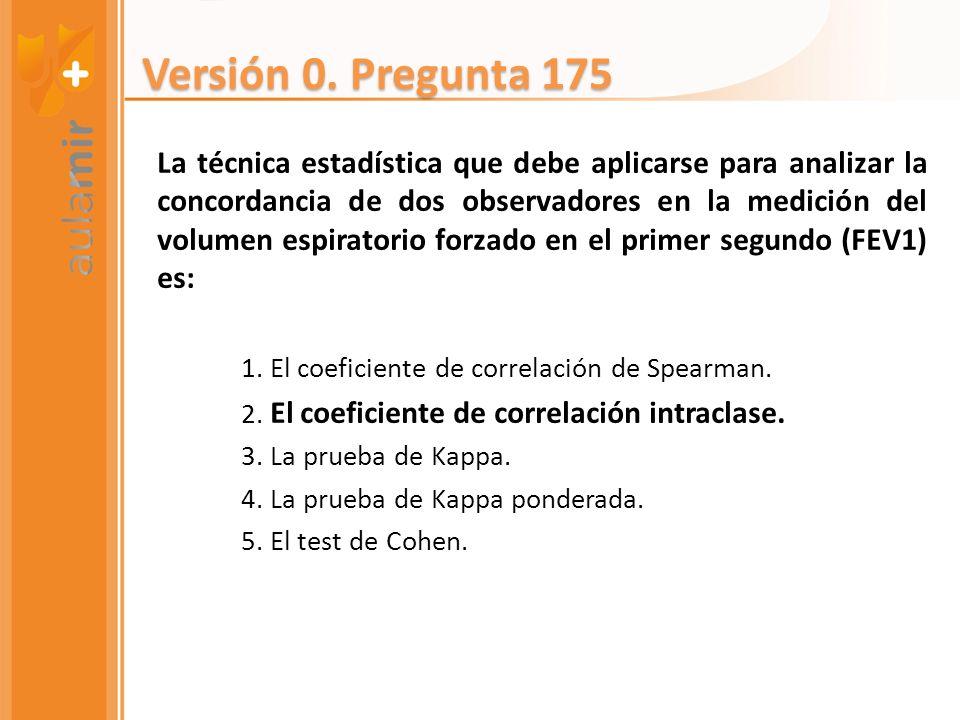Versión 0. Pregunta 175