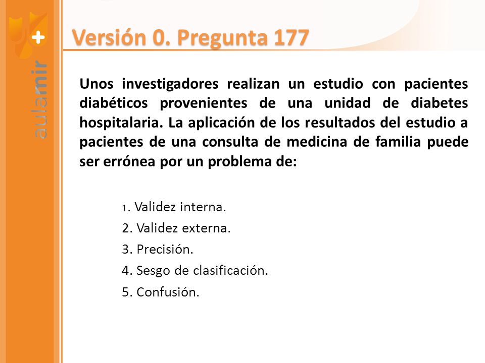 Versión 0. Pregunta 177