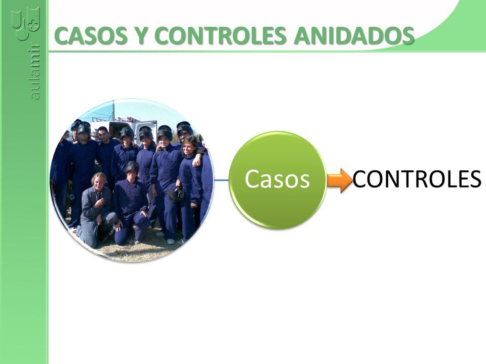 CASOS Y CONTROLES ANIDADOS