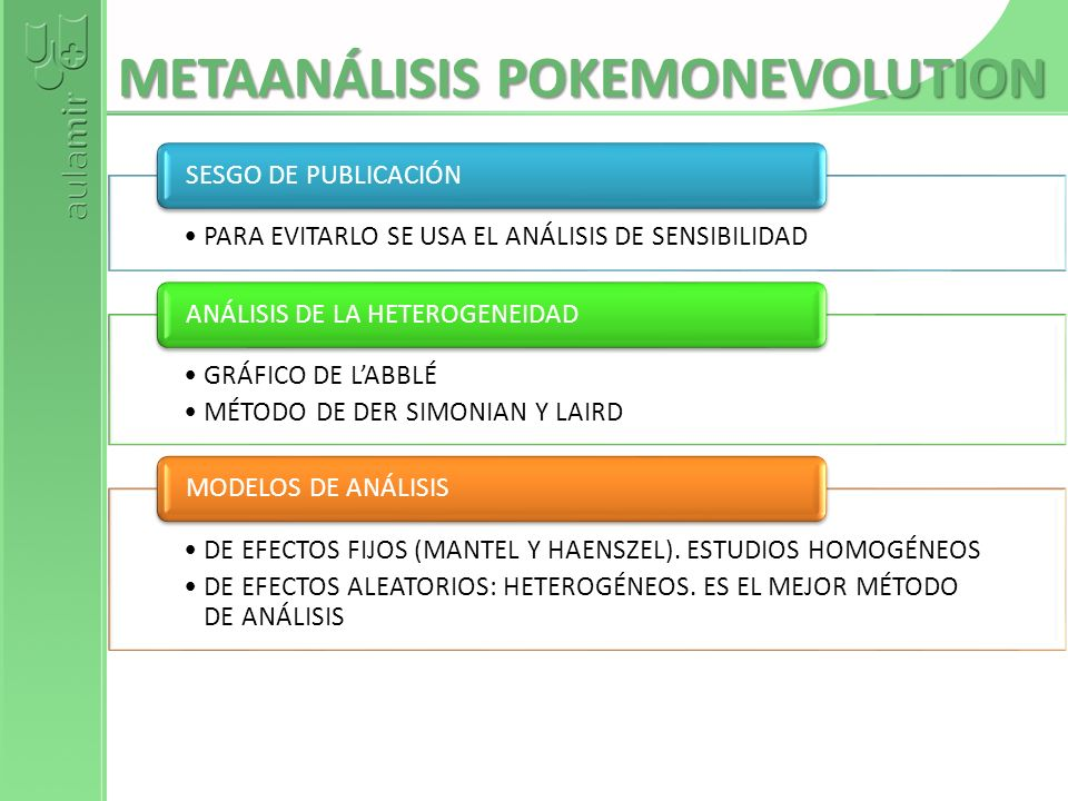 METAANÁLISIS POKEMONEVOLUTION