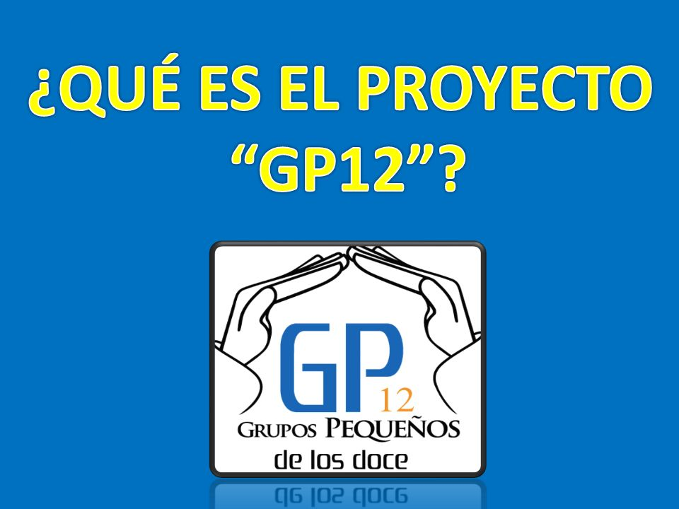 ¿QUÉ ES EL PROYECTO GP12