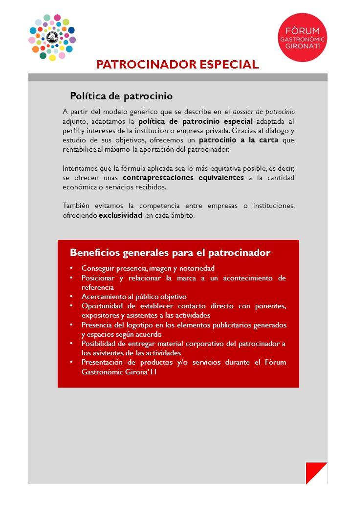 PATROCINADOR ESPECIAL