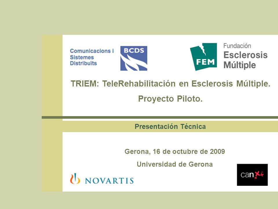 TRIEM: TeleRehabilitación en Esclerosis Múltiple.