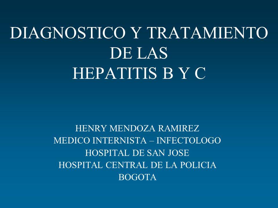 HEPATITIS B Y C DIAGNOSTICO Y TRATAMIENTO - ppt descargar