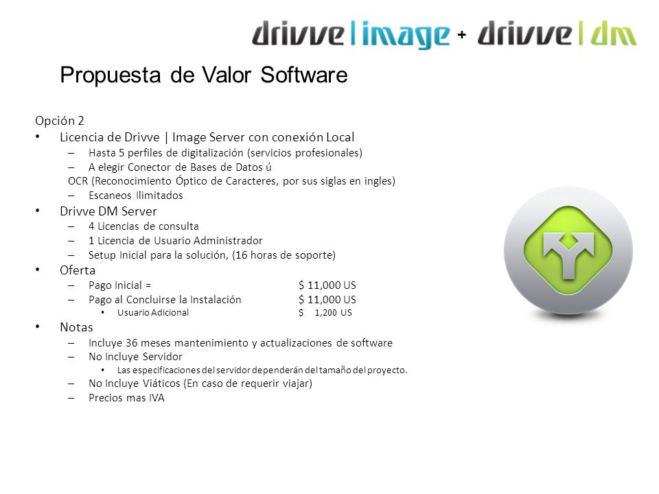 Propuesta de Valor Software
