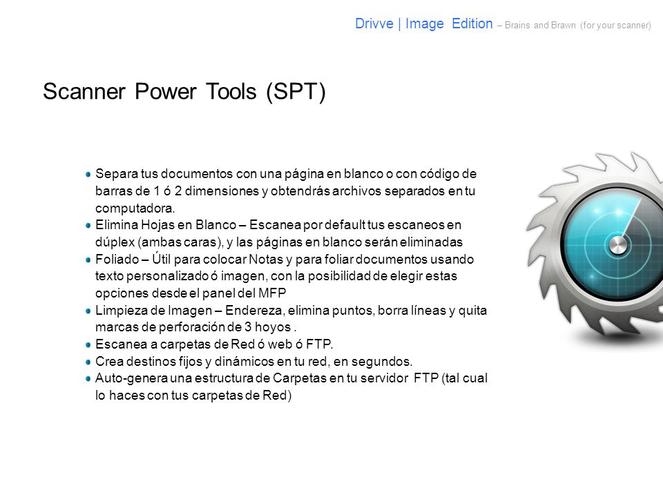 Scanner Power Tools (SPT)