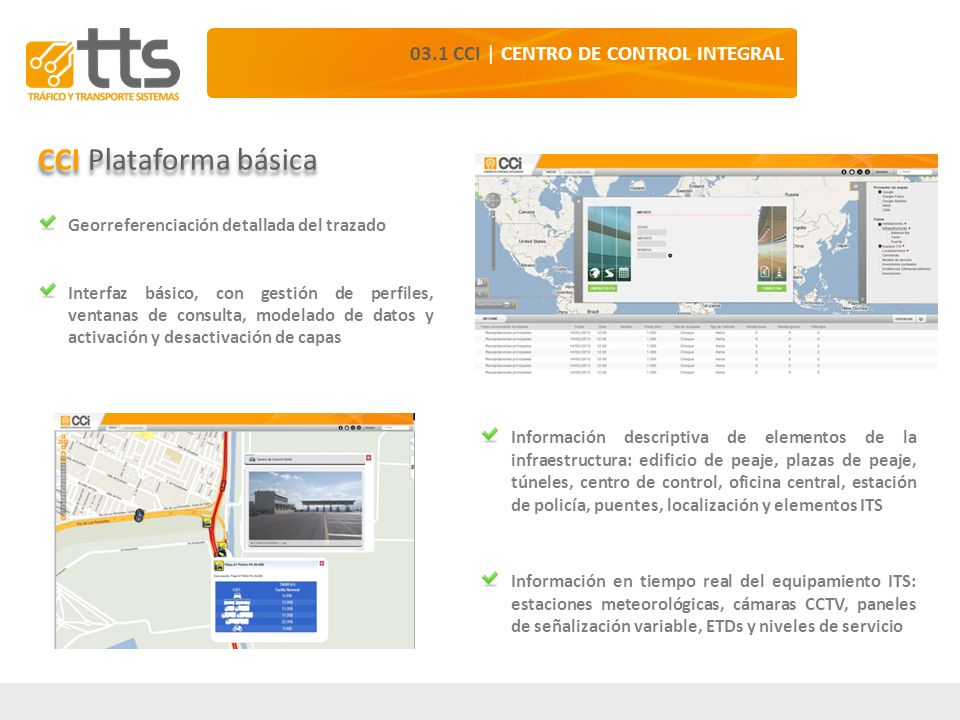 CCI Plataforma básica 03.1 CCI | CENTRO DE CONTROL INTEGRAL