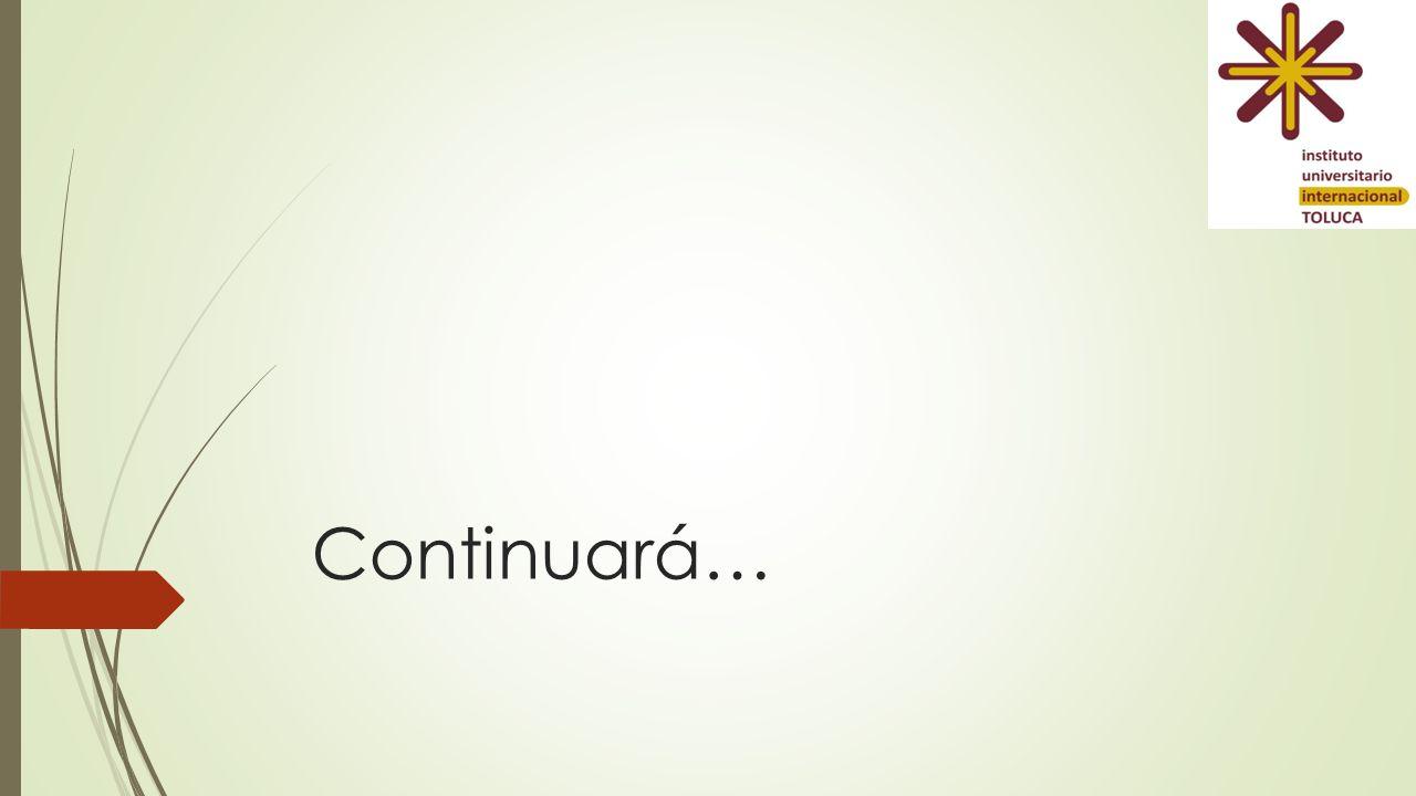 Continuará…