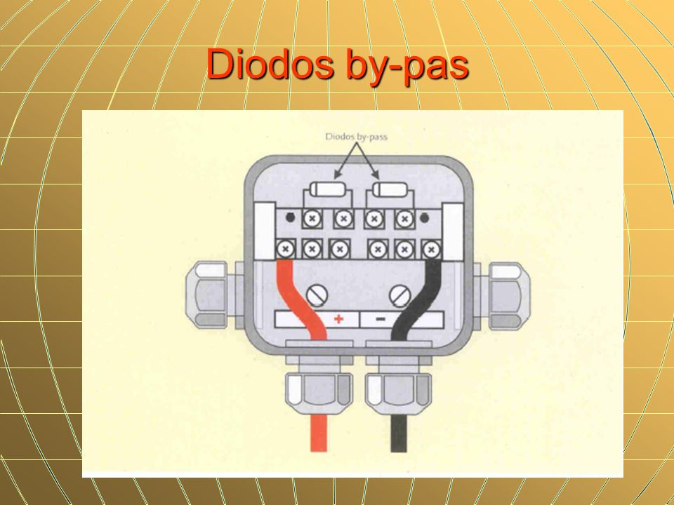 Diodos by-pas