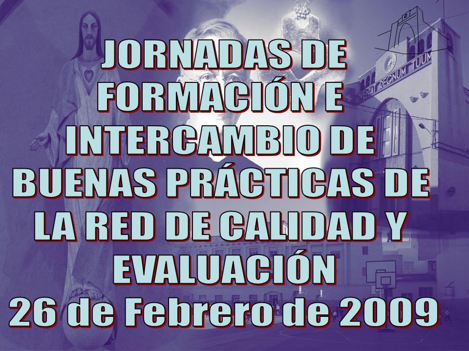 JORNADAS DE FORMACIÓN E. INTERCAMBIO DE. BUENAS PRÁCTICAS DE.