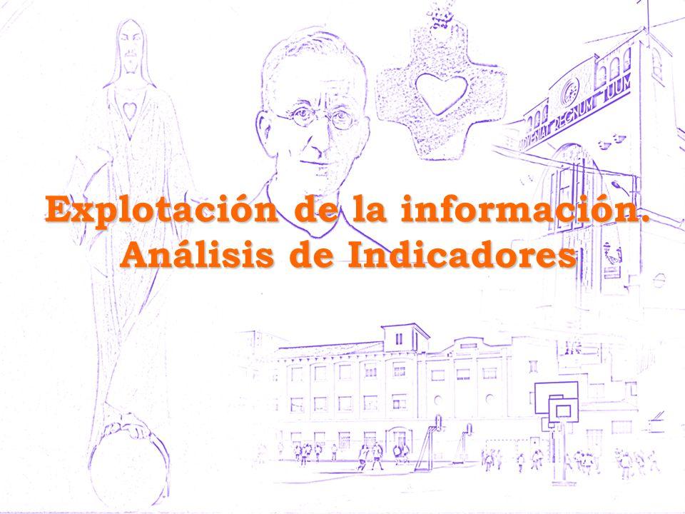 Explotación de la información. Análisis de Indicadores