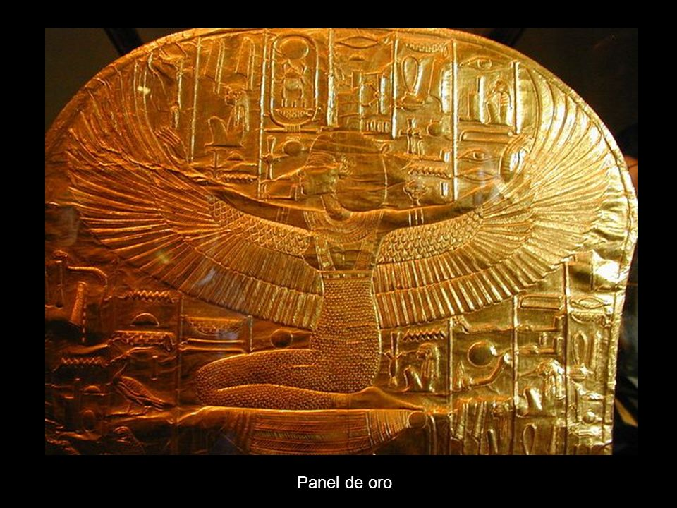 Panel de oro