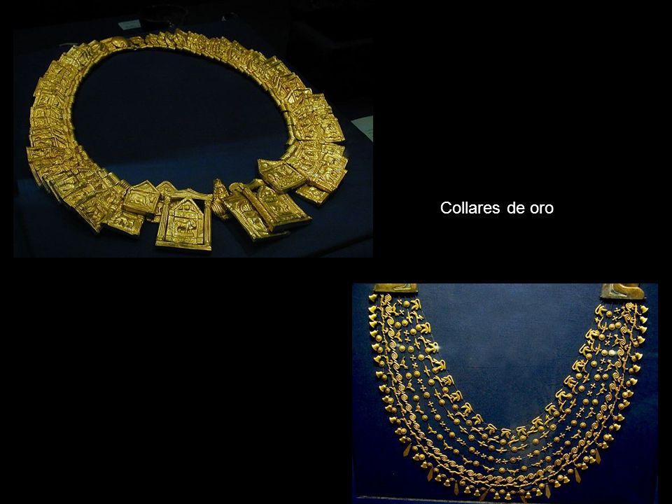 Collares de oro