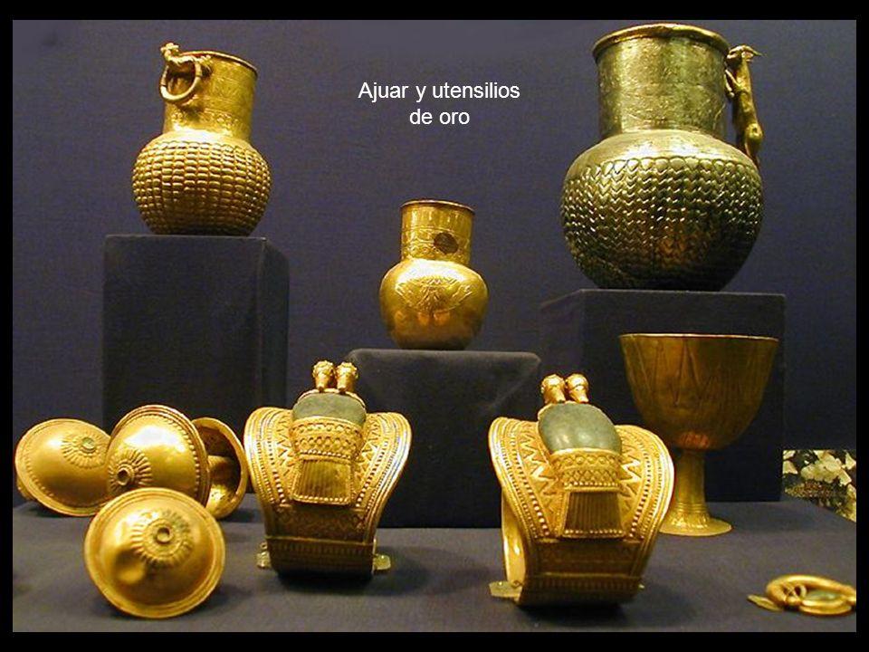 Ajuar y utensilios de oro
