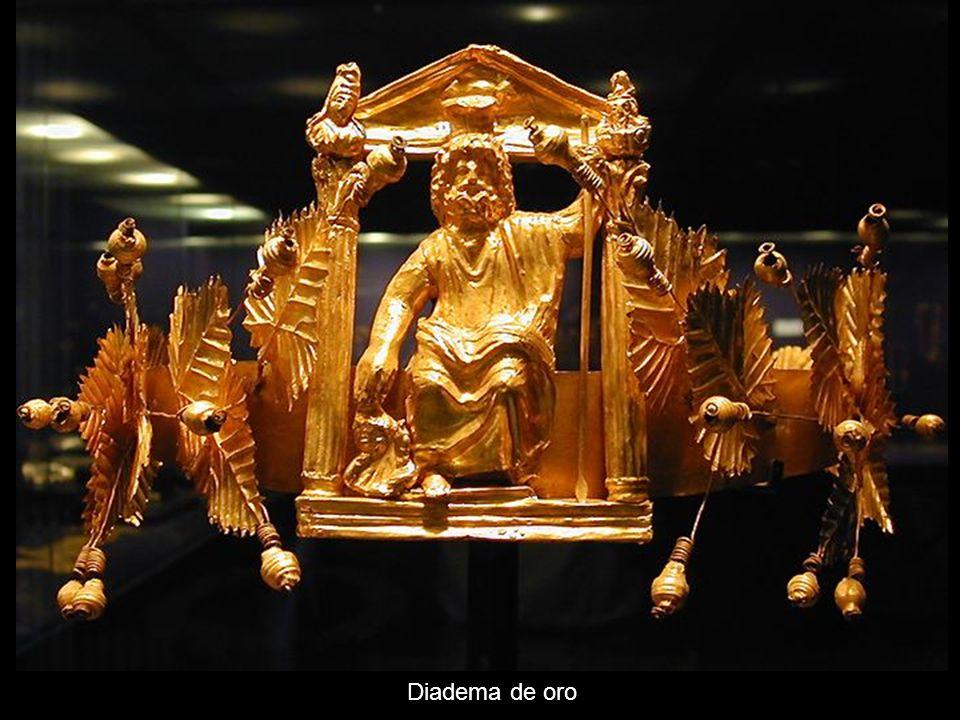 Diadema de oro