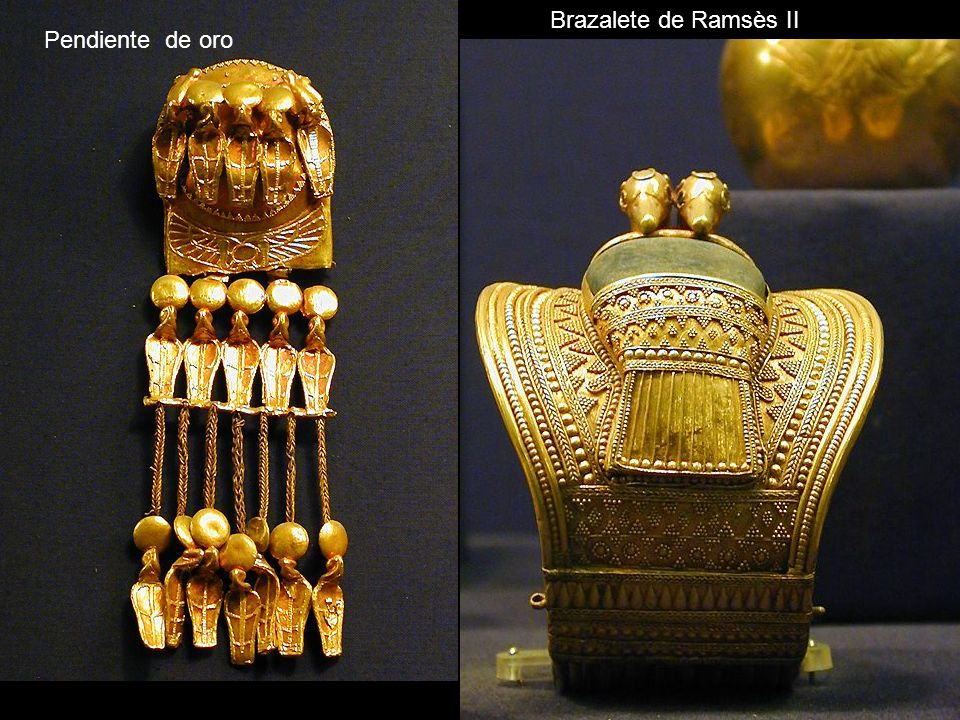 Brazalete de Ramsès II Pendiente de oro