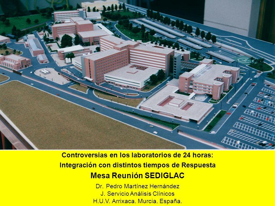 Mesa Reunión SEDIGLAC Controversias en los laboratorios de 24 horas: