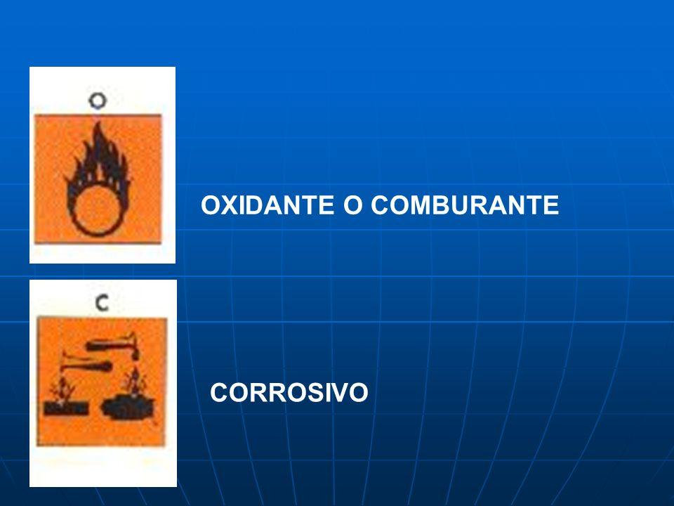 OXIDANTE O COMBURANTE CORROSIVO