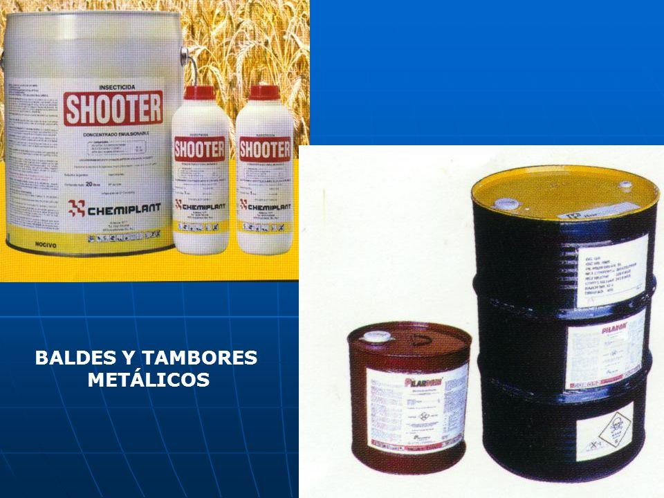 BALDES Y TAMBORES METÁLICOS