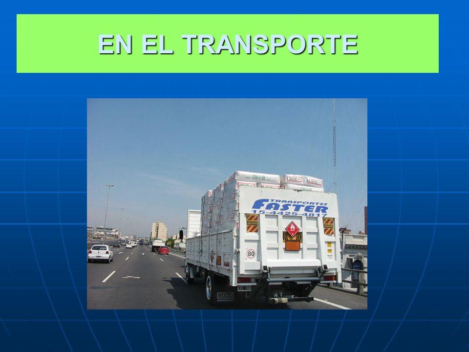 EN EL TRANSPORTE