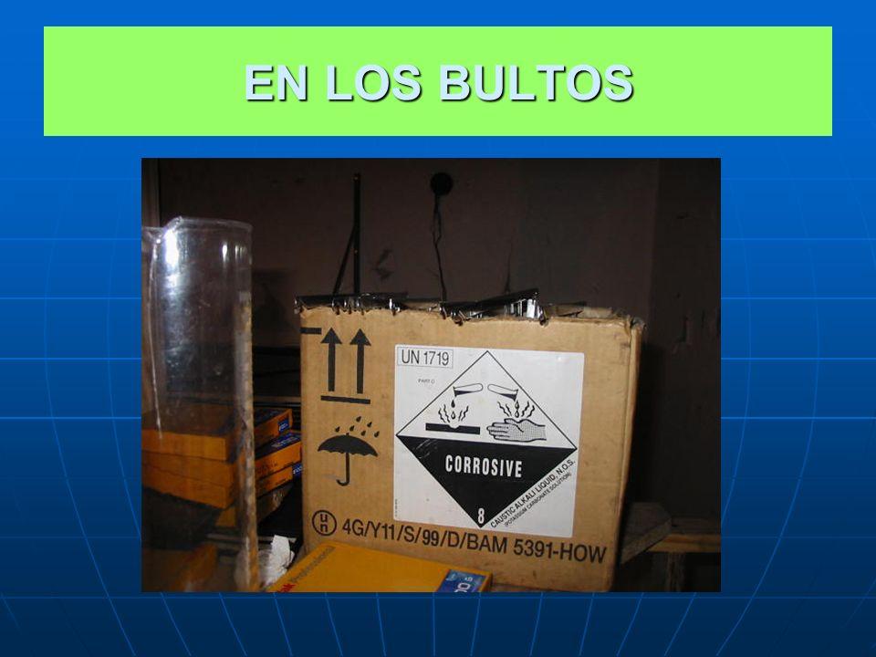 EN LOS BULTOS