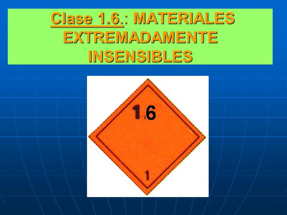 Clase 1.6.: MATERIALES EXTREMADAMENTE INSENSIBLES