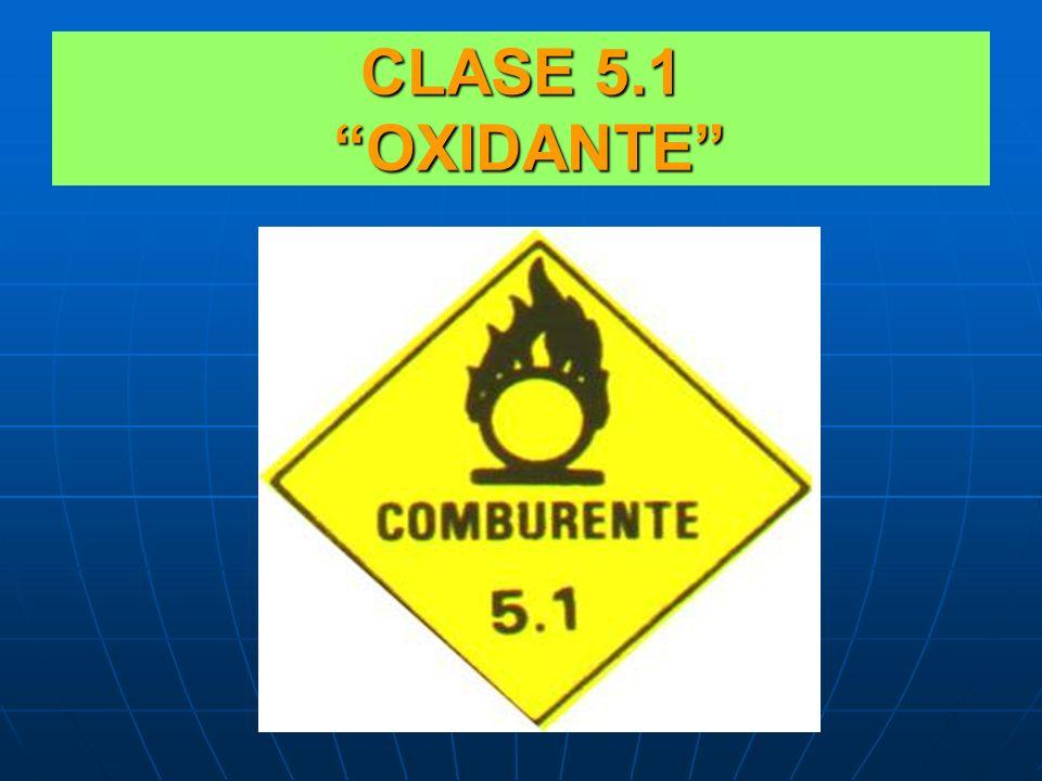 CLASE 5.1 OXIDANTE