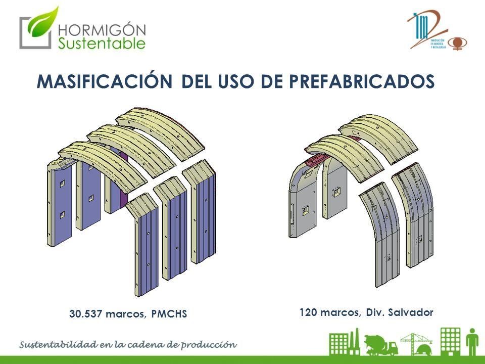 MASIFICACIÓN DEL USO DE PREFABRICADOS