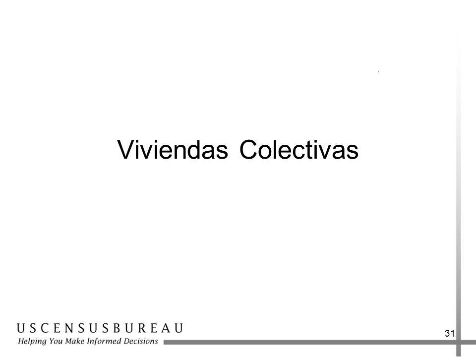 Viviendas Colectivas
