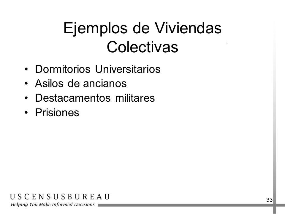 Ejemplos de Viviendas Colectivas
