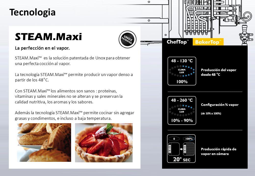 STEAM.Maxi La perfección en el vapor.