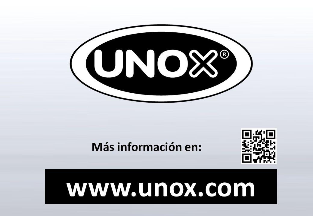 Más información en: www.unox.com