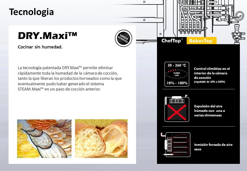 DRY.Maxi™ Cocinar sin humedad.