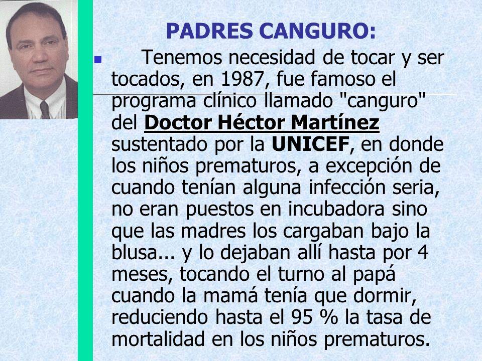 PADRES CANGURO: