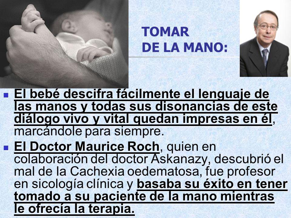 TOMAR DE LA MANO: