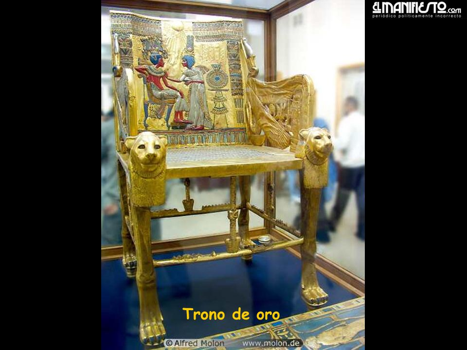 Golden throne Trono de oro