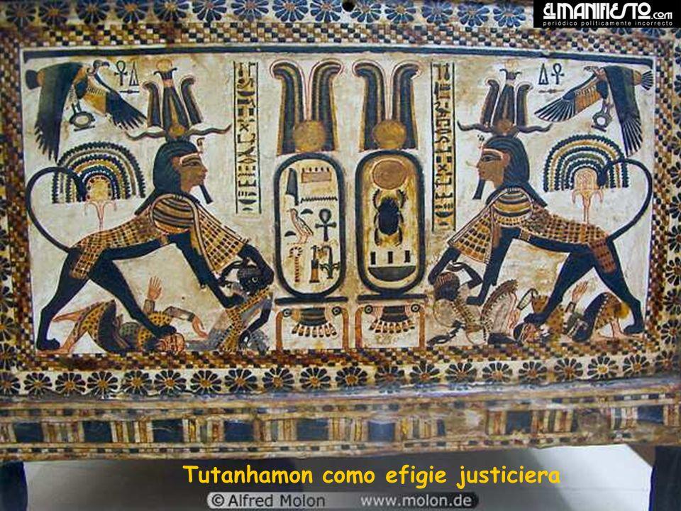 Tutanhamon como efigie justiciera