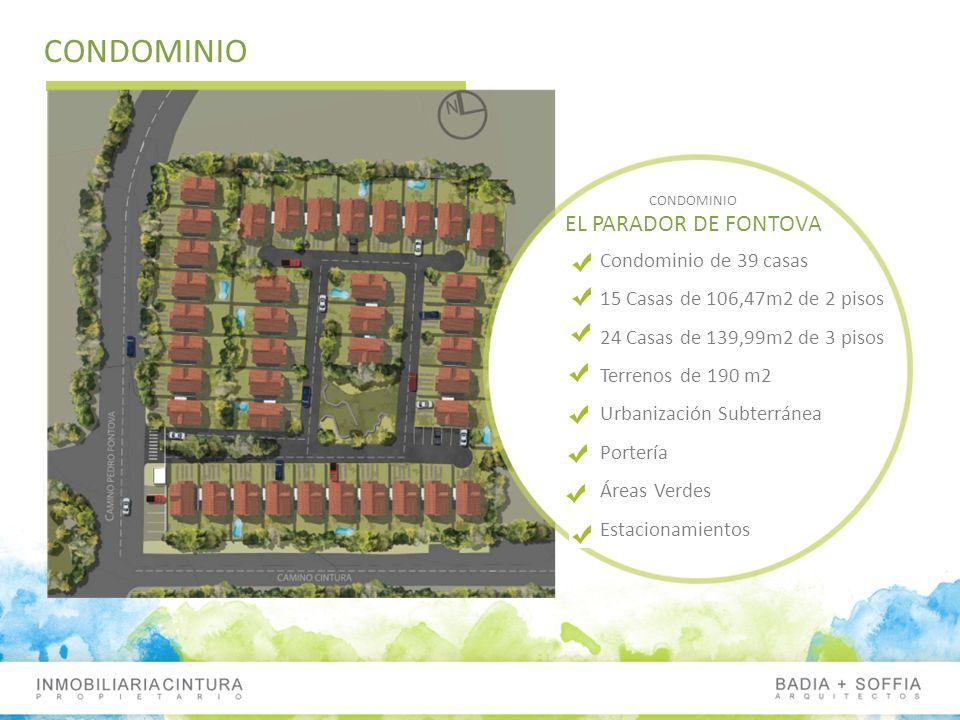 CONDOMINIO EL PARADOR DE FONTOVA Condominio de 39 casas