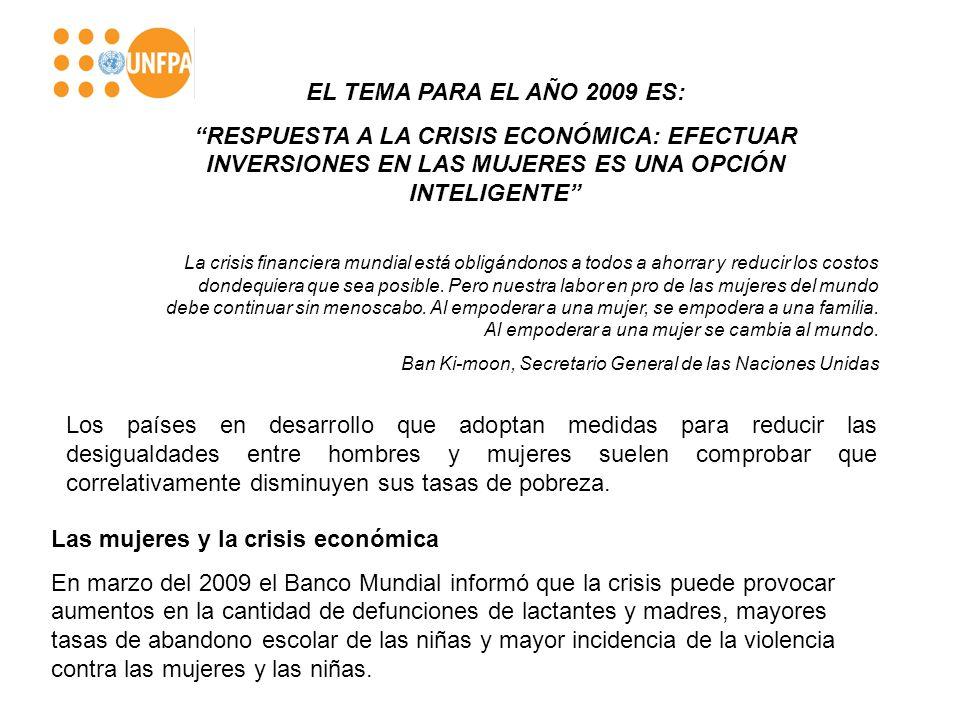 Las mujeres y la crisis económica