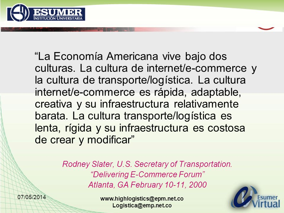 La Economía Americana vive bajo dos culturas