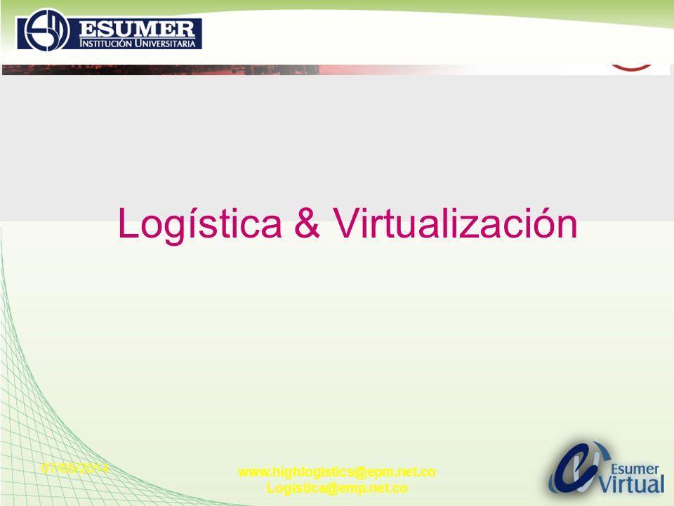 Logística & Virtualización