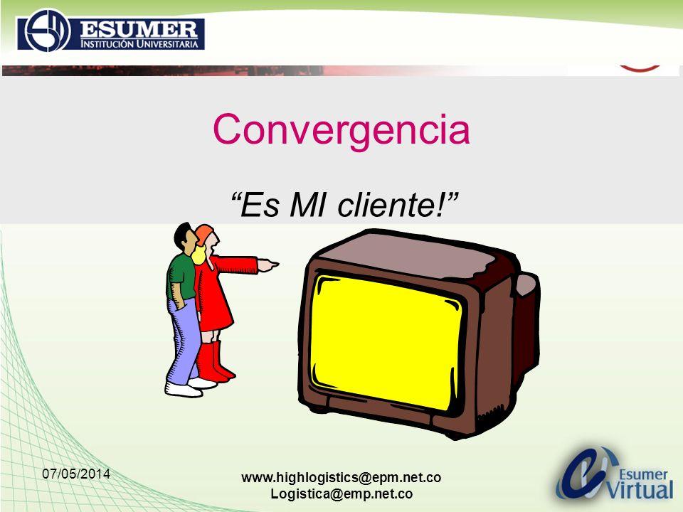 Convergencia Es MI cliente! 29/03/2017 www.highlogistics@epm.net.co