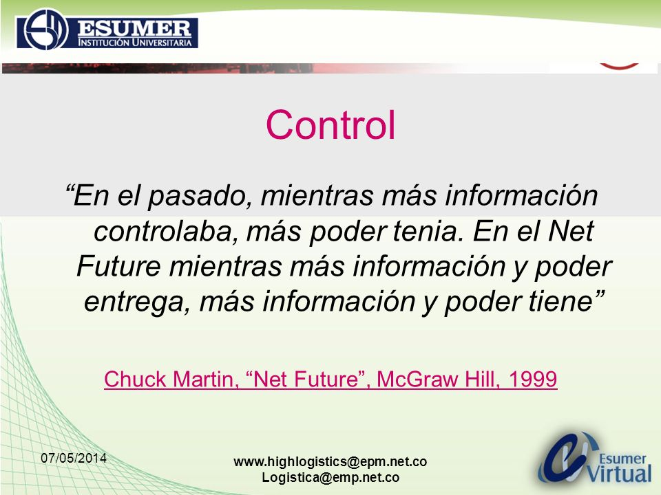 Chuck Martin, Net Future , McGraw Hill, 1999
