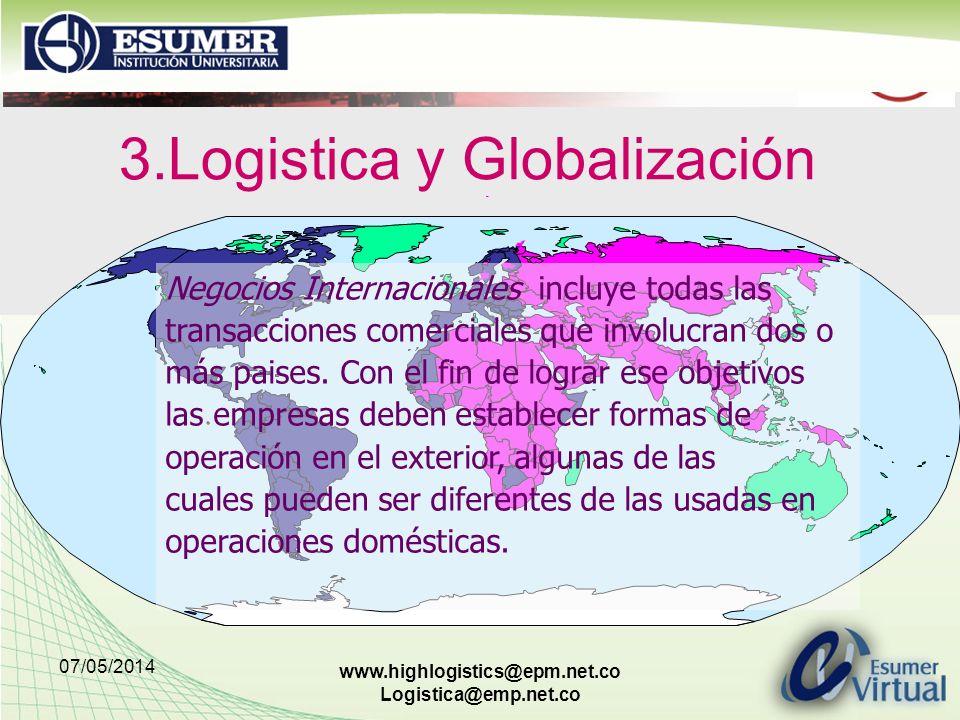 3.Logistica y Globalización